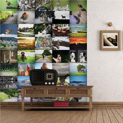 Village 64 Piece Creative Collage