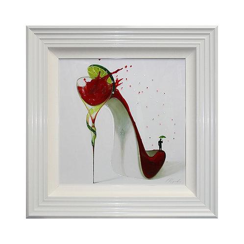 Cosmopolitan Liquid Framed Wall Art