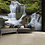 Thumbnail: Waterfall Feature 4 Piece Wall Mural