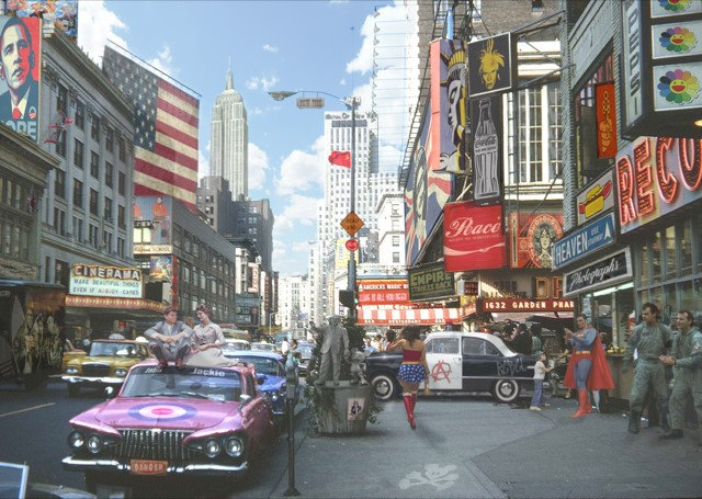 Dirty Hans POP GOES NEW YORK 2 Limited Edition Print