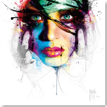 Patrice Murciano CORALIE 1 Framed Wall Art