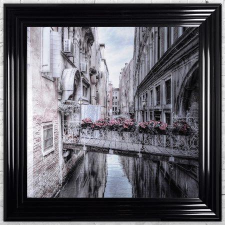 Venice 1 Framed Liquid Artwork