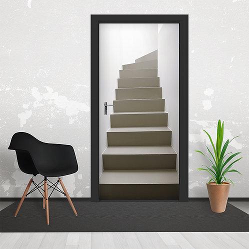 Stairs Door Wallpaper Mural