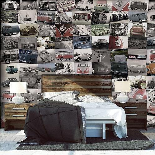 Volkswagen 64 Piece Creative Collage