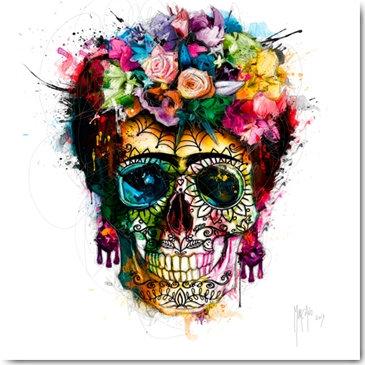 Patrice Murciano FRIDA SKULL Framed Wall Art