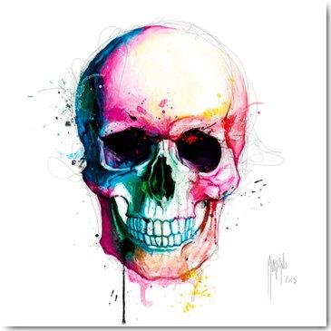 Patrice Murciano SKULL Framed Wall Art