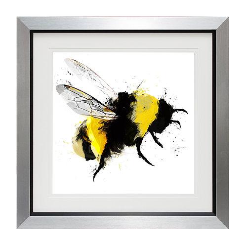Scruffy Bumblebee III Framed Wall Art