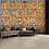 Thumbnail: Stacked Fire Wood Logs Feature 4 Piece Wall Mural