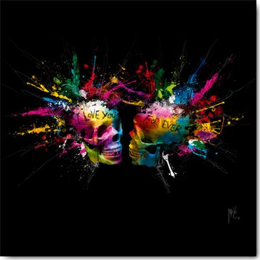 Patrice Murciano ETERNAL LOVERS Framed Wall Art