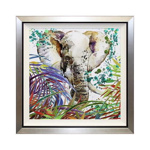 Jungle Memories I Liquid Art Framed Wall Art