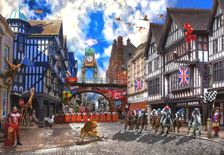Dirty Hans POP GOES CHESTER Limited Edition Print