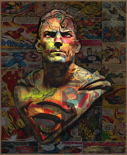 Dirty Hans SUPERMAN Limited Edition Print