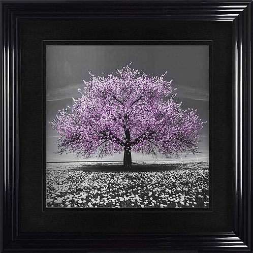 Cherry Tree Liquid Framed Wall Art