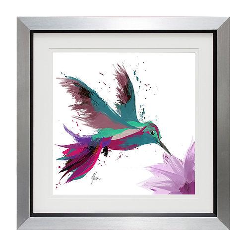 Hummingbird II Framed Wall Art