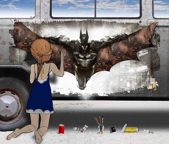 Chloe Rox - VW Batman Limited Edition Canvas