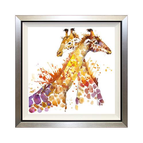 Giraffes Can't Dance Framed Wall Art