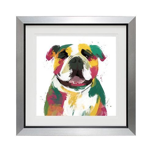 Bulldog Framed Wall Art
