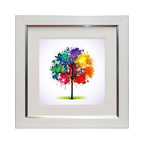 Celebration Tree I Framed Wall Art