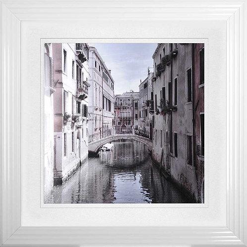 Venice 2 Liquid Framed Wall Art