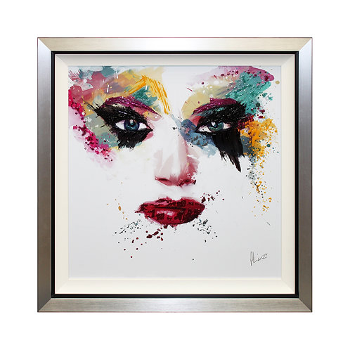 Masquerade I Liquid Art Framed Wall Art