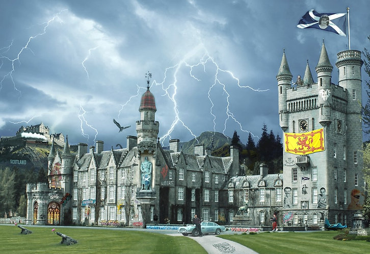 Dirty Hans POP GOES BALMORAL Limited Edition Print