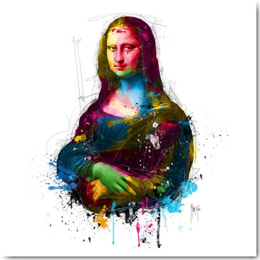 Patrice Murciano DA VINCI POP Framed Wall Art