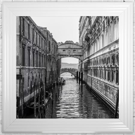 Venice 3 Framed Liquid Wall Art