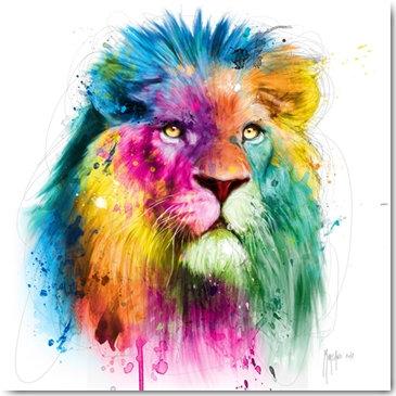 Patrice Murciano LION Framed Wall Art