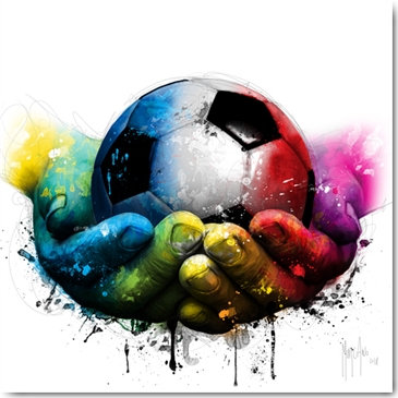 Patrice Murciano WE ARE THE CHAMPIONS Framed Wall Art
