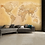 Thumbnail: Vintage Old Map Feature 4 Piece Wall Mural