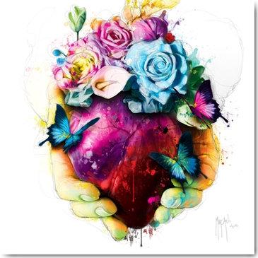 Patrice Murciano TAKE MY HEART Framed Wall Art