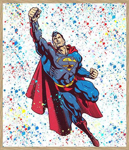 Chloe Rox - Superman Limited Edition Print