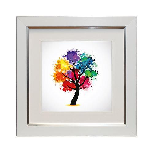 Celebration Tree II Framed Wall Art