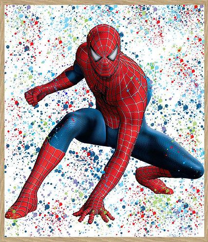 Chloe Rox - Spiderman Limited Edition Print
