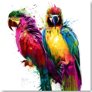 Patrice Murciano TROPICAL COLOURS Framed Wall Art