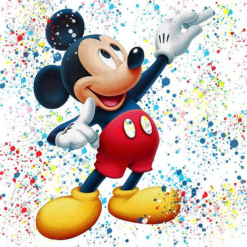 Chloe Rox - Mickey Mouse Limited Edition Print