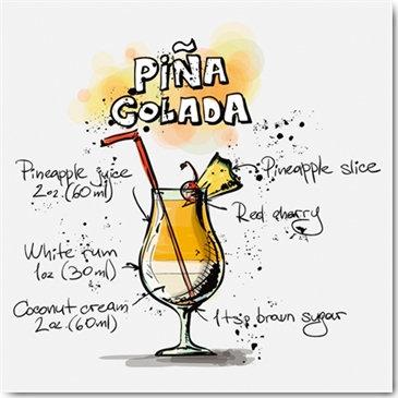 Plexi Collection - Pina Colada
