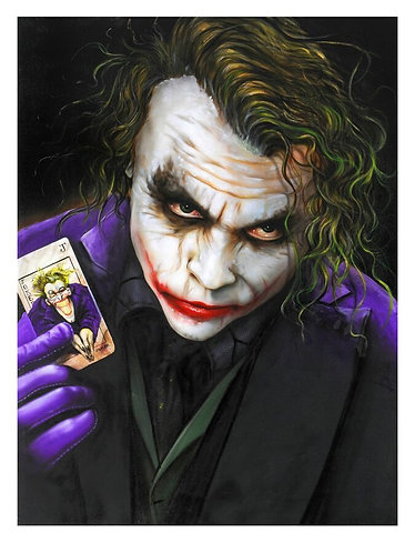 The Joker Limited Edition by Paul Karslake