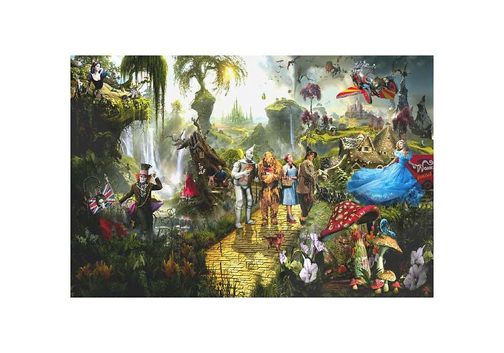Dirty Hans FAIRY TALE FANTASY Limited Edition Print