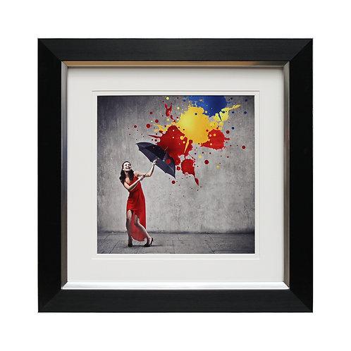 Dancing In The Rain I Framed Wall Art