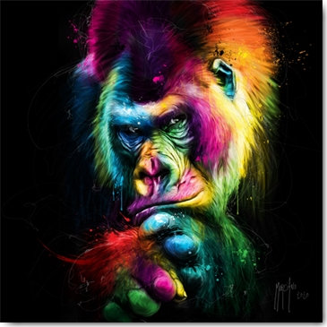 Patrice Murciano LE VIEUX SAGE-THE OLD WISE Framed Wall Art