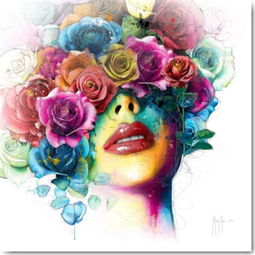 Patrice Murciano LA VIE EN ROSES 2 Framed Wall Art