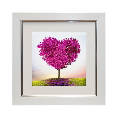 Tree Of Love II Framed Wall Art