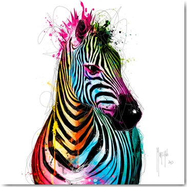 Plexi Collection - Zebra Pop