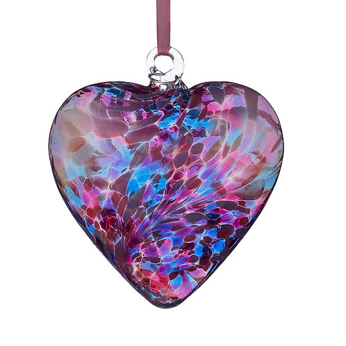 Friendship Hearts 8cm - Blue & Pink