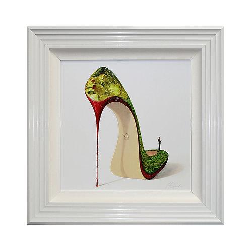 Martini Dry Liquid Framed Wall Art