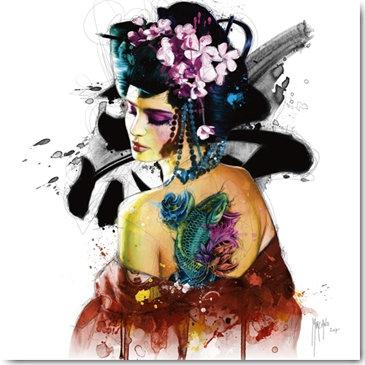 Patrice Murciano GEISHA Framed Wall Art