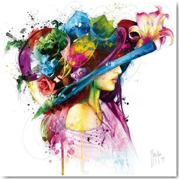 Patrice Murciano ROMANTIC FLOWERS Framed Wall Art