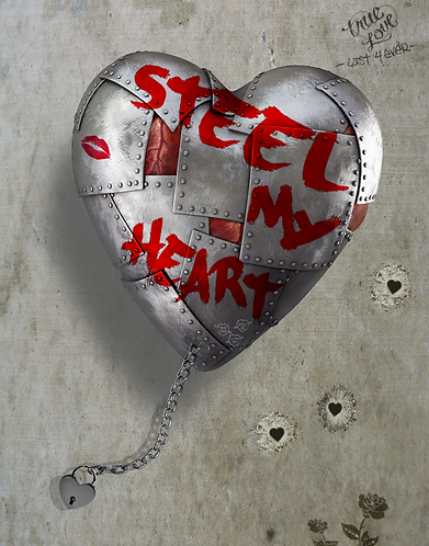 Dirty Hans STEEL MY HEART Limited Edition Print