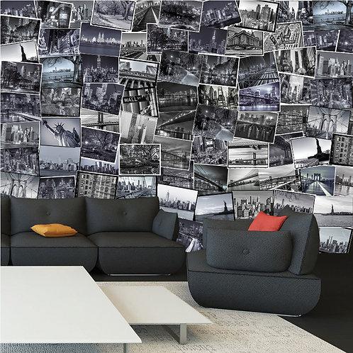 City 64 Piece Creative Collage